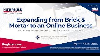 NJTT #003: Expanding from Brick & Mortar to an Online Business