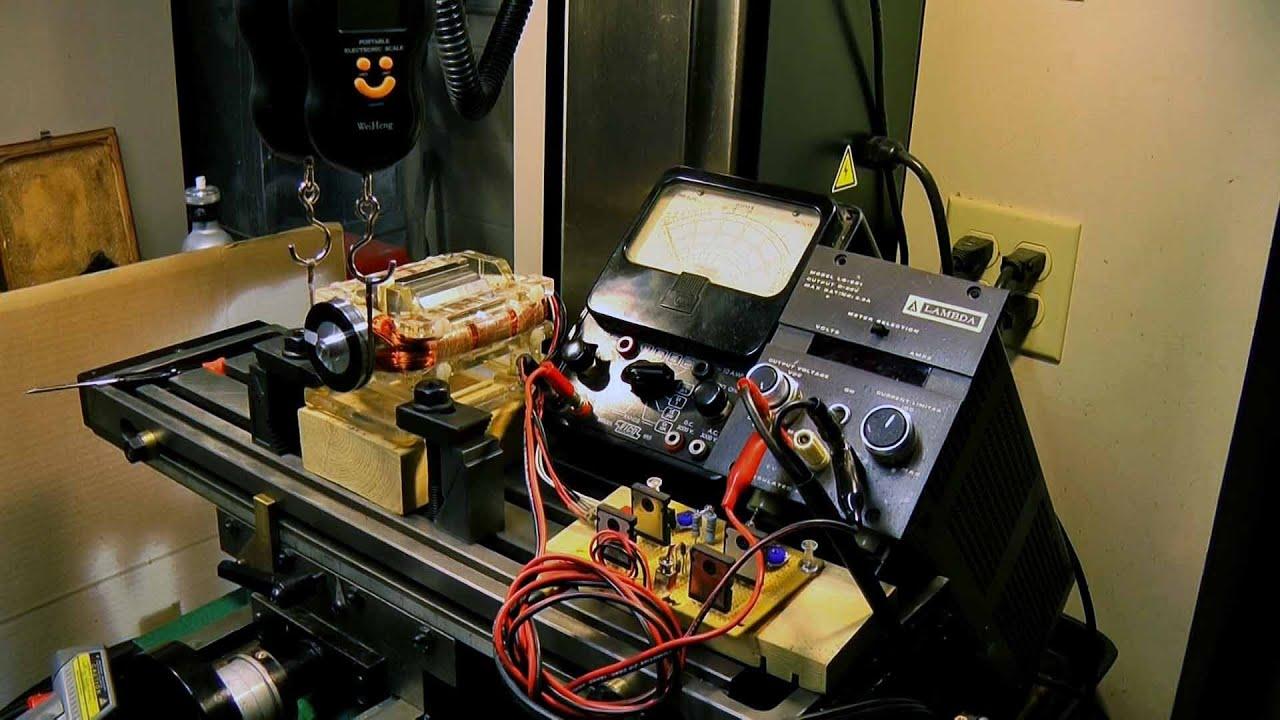Diy dynamometer prony brake youtube for Rc electric motor dyno