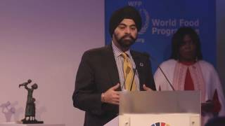 Mastercard CEO Accepts World Food Programme