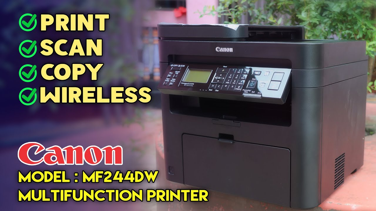 Canon Printer imageCLASS MF20dw Wireless Multifunction Review 20