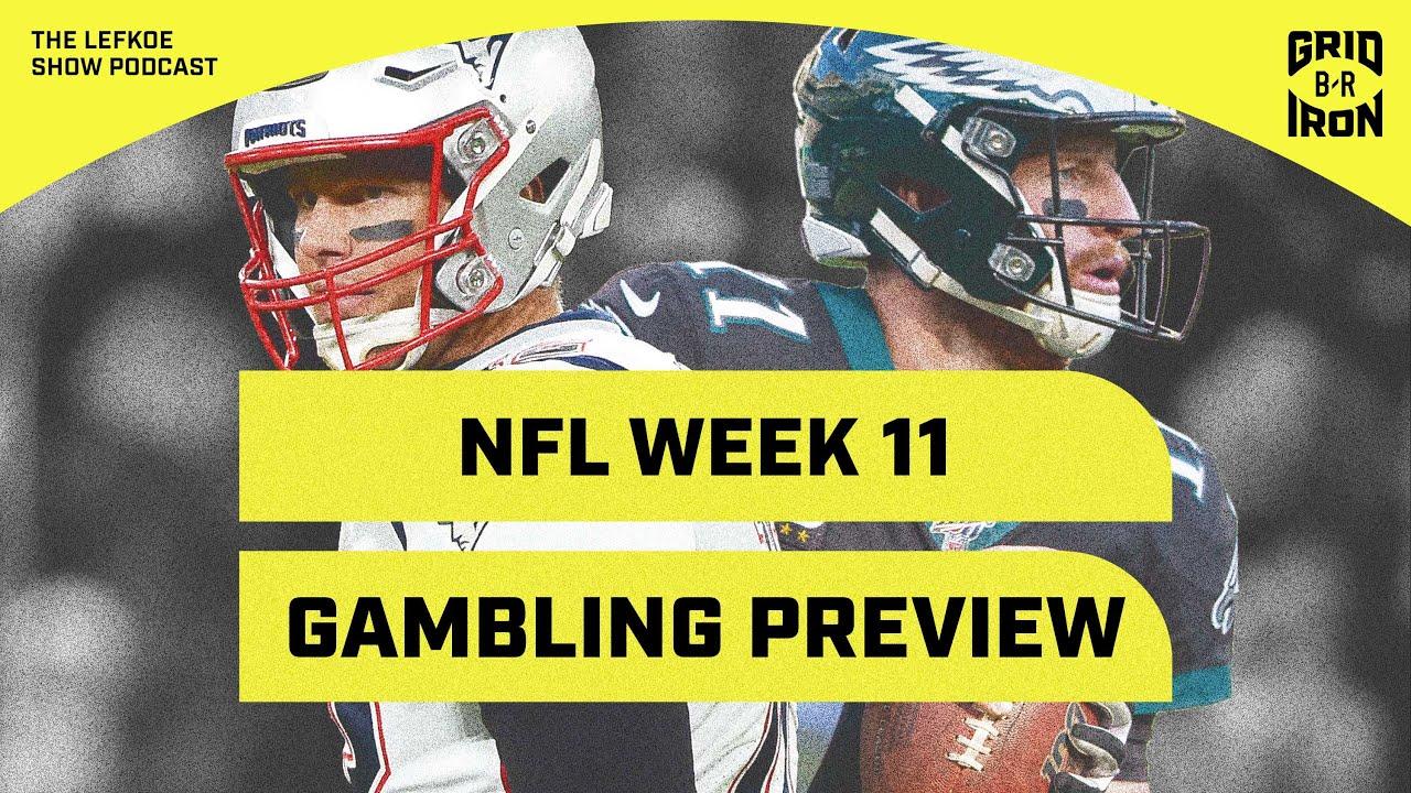 Warren Sharp's Week 11 Gambling & Fantasy Preview | The Lefkoe Show