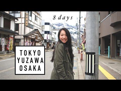 JAPAN TRIP│Meeting Sakura & Snow│Tokyo-Yuzawa-Osaka (2017)