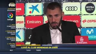 Benzema es merengue hasta el 2021