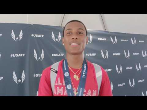 Eric Edwards After 13.32 No. 8 AllTime 110mH