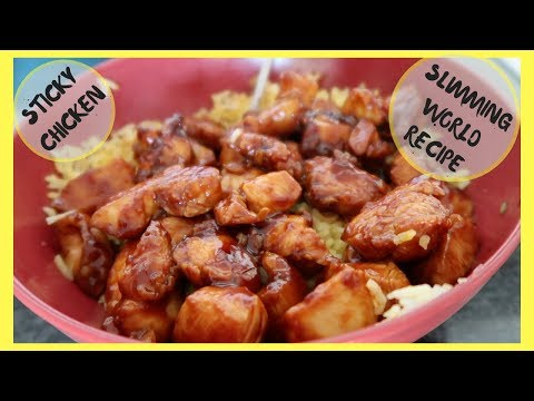STICKY CHICKEN || COOK WITH ME || SLIMMING WORLD || EASY FAMILY RECIPE