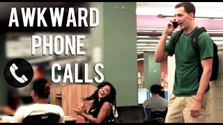 Repeat youtube video AWKWARD PHONE CALLS PRANK!!