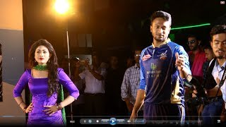 When Shakib Al Hasan Model | Exclusive Shooting video