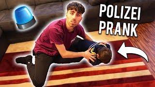 POLIZEI rufen PRANK AN kleinen KURDISCHEN BRUDER !!! (Er weint ...)