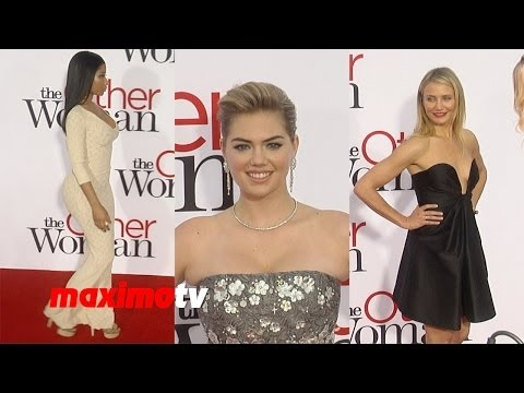 "Nicki Minaj, Kate Upton, Cameron Diaz ""The Other Woman"" Los Angeles Premiere"