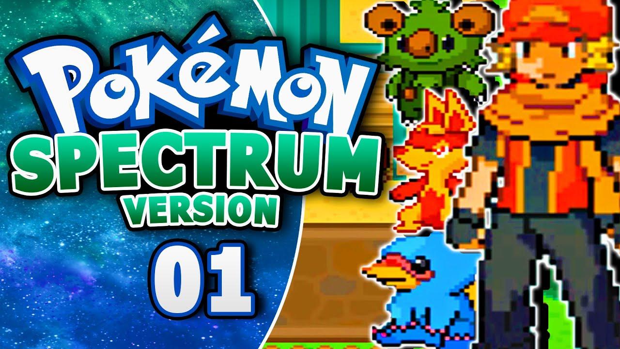 Pokemon Spectrum Fan Game Part 1 GORGEOUS FAKEMON