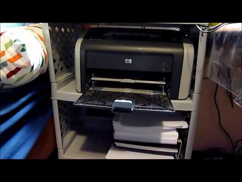 Installing HP LaserJet 1010 printer driver on Windows 10