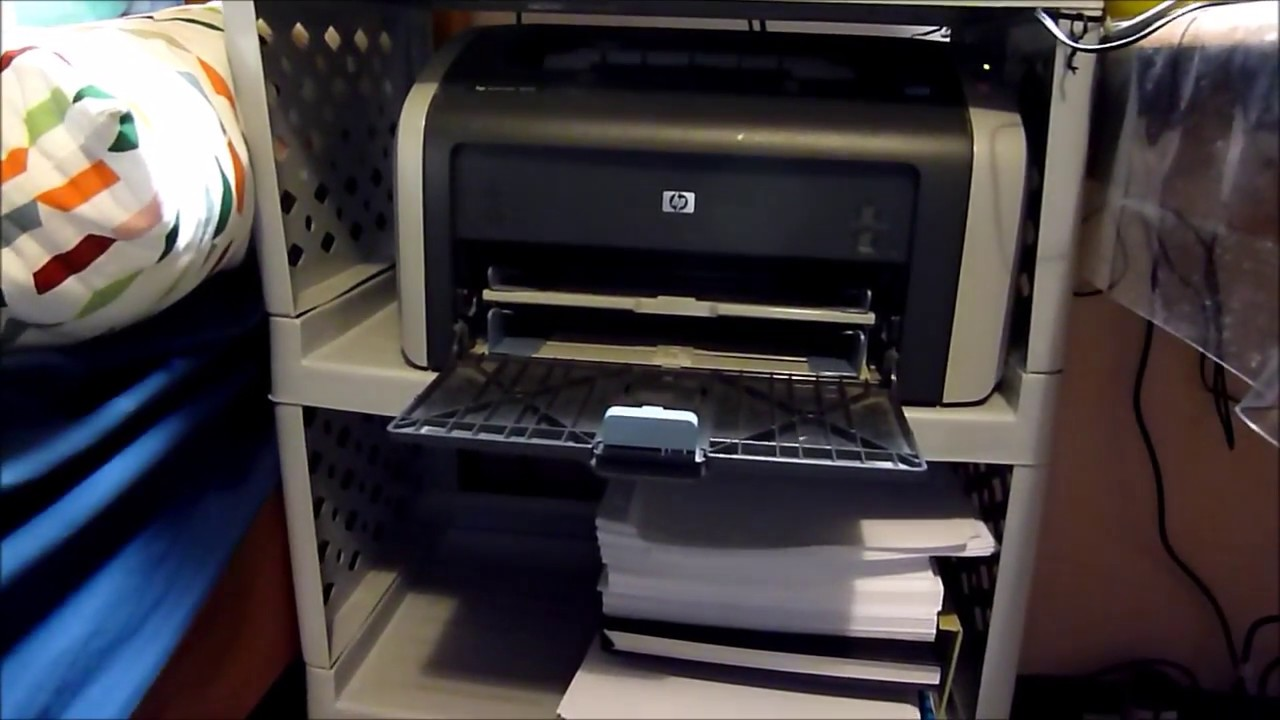 Installing HP LaserJet 1010 printer driver on Windows 10 ...