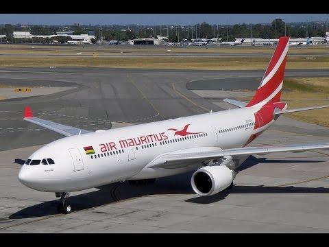 "flight report ""Air Mauritius "" A330~200  PERTH TO MAURITIUS Economy"