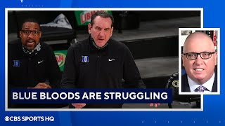 Most Dangerous 1 Seed, Blue Bloods Are Struggling | March Madness Update | CBS Sports HQ