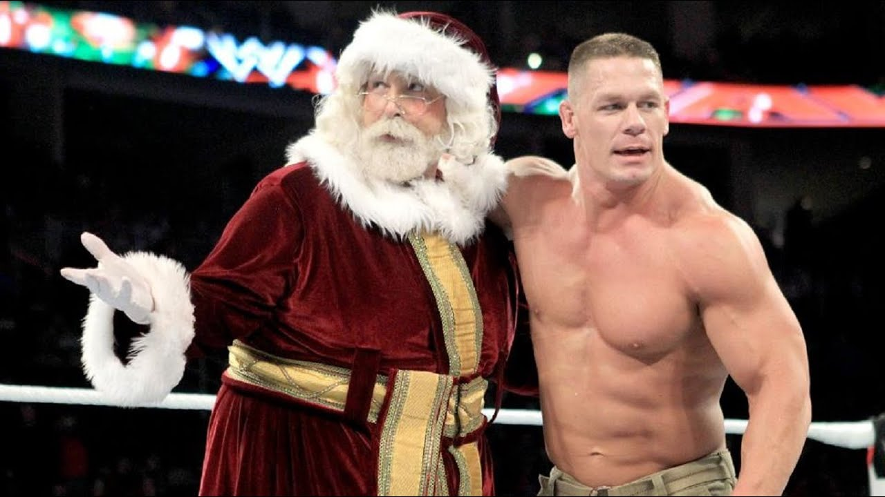 John cena Christmas remix - YouTube