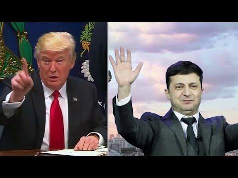 В США требуют обнародовать разговор Дональда Трампа с украинским лидером Владимиром Зеленским.