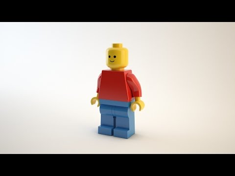 3ds max modeling - LEGO MAN Part1
