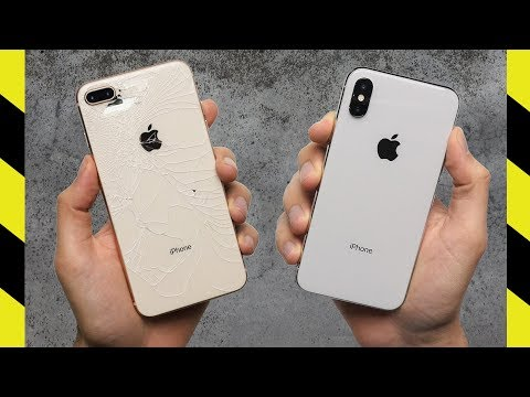 IPhone X Vs. IPhone 8 Plus Drop Test!