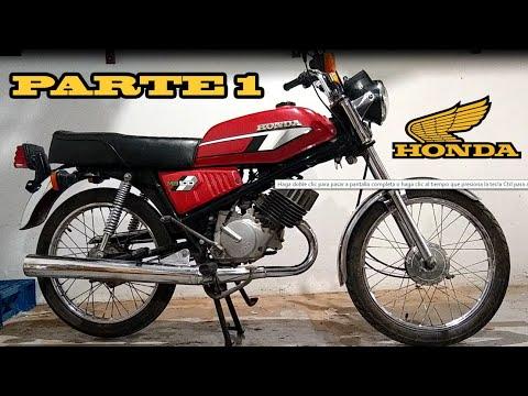 Moto Honda MB
