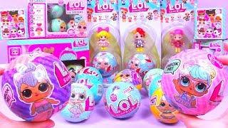 28 ЛОЛ ШАРОВ ОРИГИНАЛ или Китайская ПОДДЕЛКА Series 1 2 Lil Sisters ЛЕДИБАГ Fake LOL Dolls Surprise