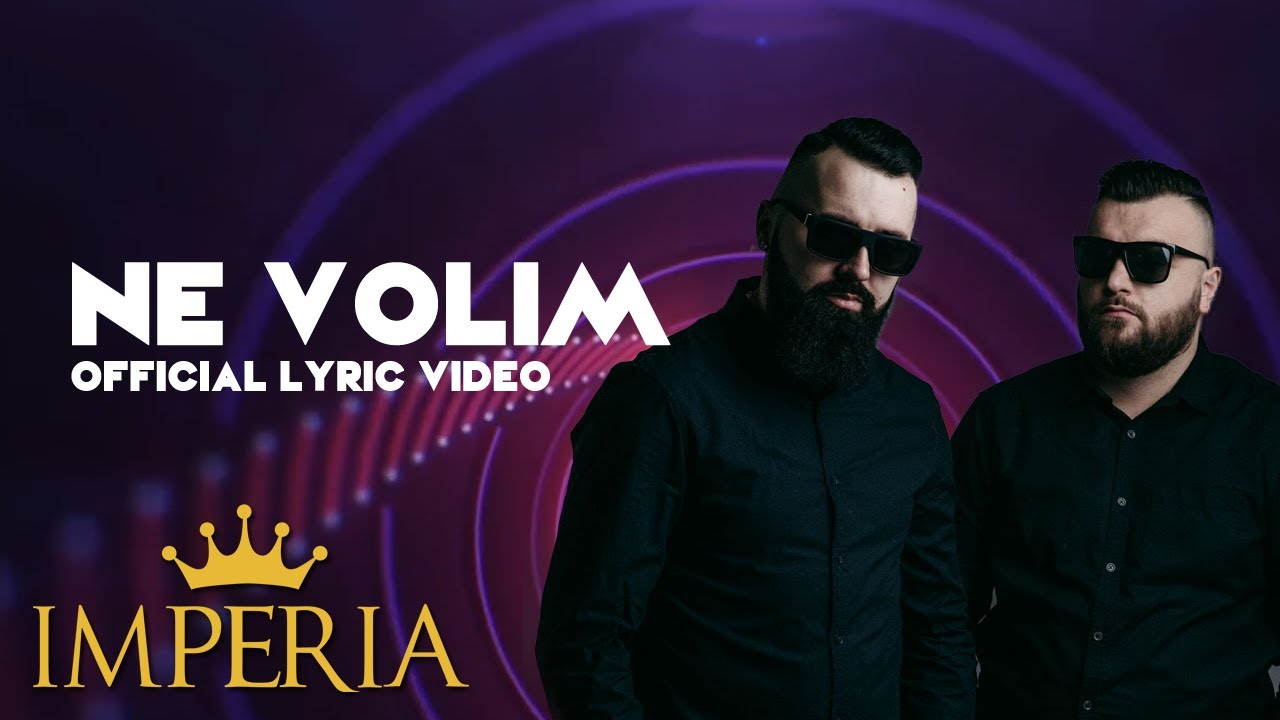 Buba Corelli x Jala Brat x Elena - Ne Volim (Official Lyric Video) #1