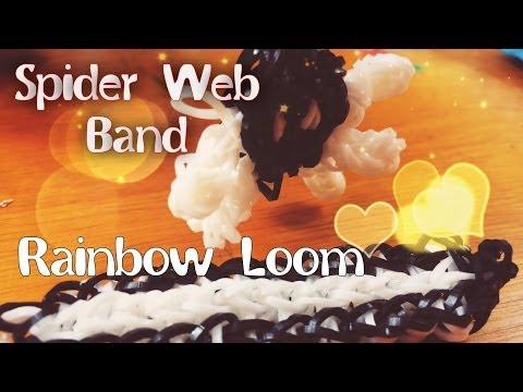 Spider Web Band Rainbow Loom