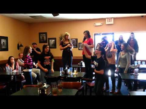 Pickens middle school cheerleaders Harlem Shake