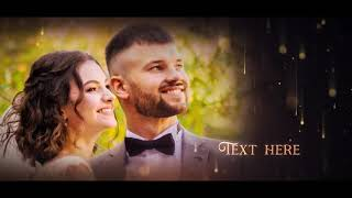 Wedding Memories After Effects | Free Project | No plugin required