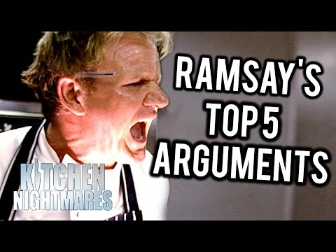 Gordon Ramsay's Top 5 British Arguments on Kitchen Nightmares UK