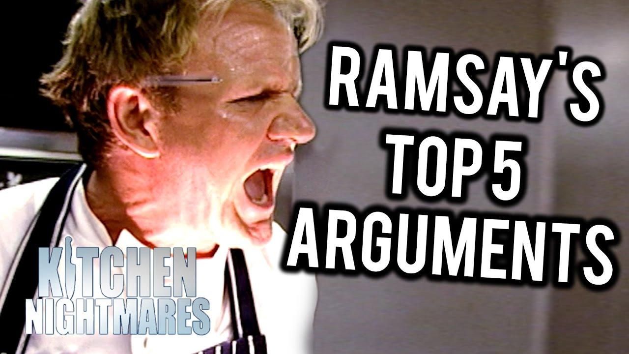 Gordon Ramsay 39 S Top 5 British Arguments On Kitchen