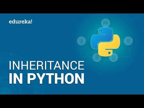 Inheritance In Python | Types Of Inheritance | Python OOP Tutorial | Edureka