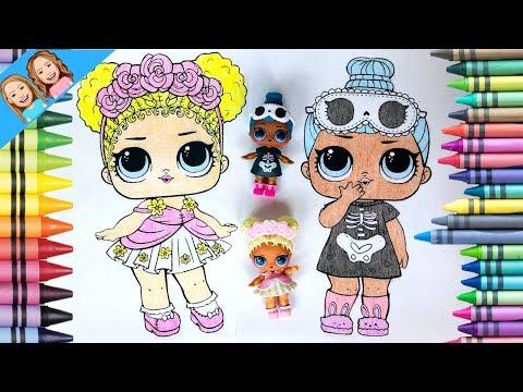Colorez Papusi Lol Surprise Coloring Lol Surprise Dolls