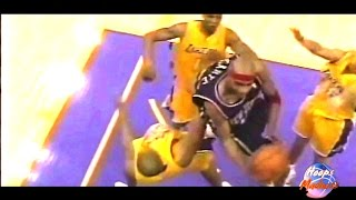 Vince carter unbelievable 360 layup!