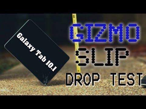 Drop Test: Samsung Galaxy Tab 10.1 (6900FPS)