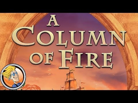 A Column of Fire — game preview at SPIEL '17