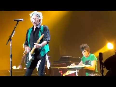 ROLLING STONES  - HAPPY  - KANSAS CITY 6/27/2015