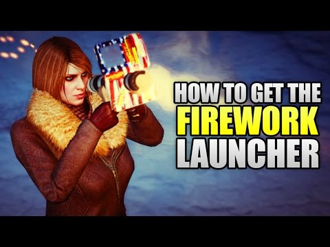 GTA 5 Online - How To Get The FIREWORK LAUNCHER For FREE With UNLIMITED AMMO! (GTA 5 Tricks)