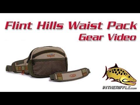 Flint Hills Waist Fly Fishing Pack