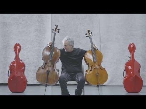 Mario Brunello - One man, two cellos