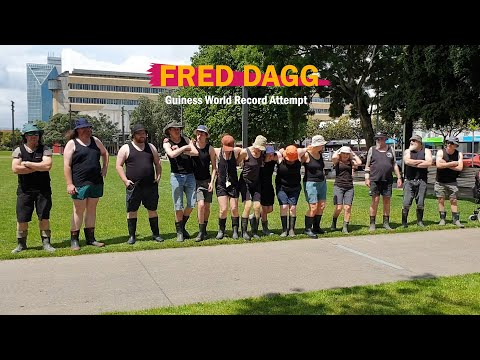 FRED DAGG Record Attempt 2019