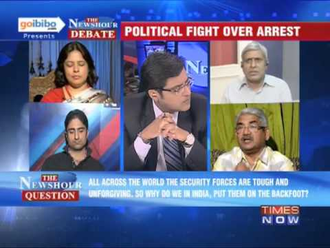 The Newshour Debate: Is Liyaqat Ali, a terrorist, being used as political advantage? (Part 2 of 3)