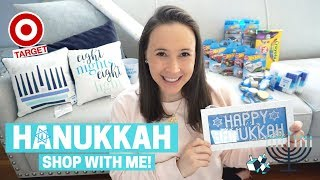 HANUKKAH Shop with Me at Target & HAUL