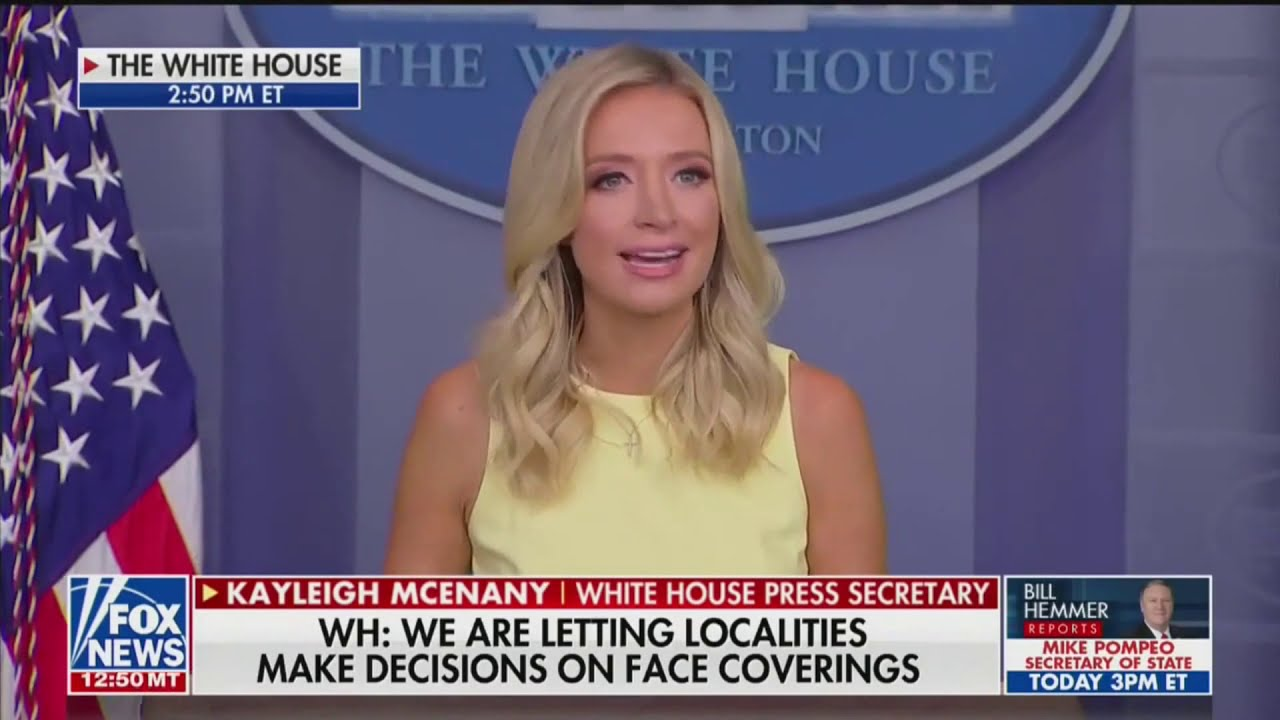 The Media Took Kayleigh Mcenany S Science Quote Out Of Context Youtube