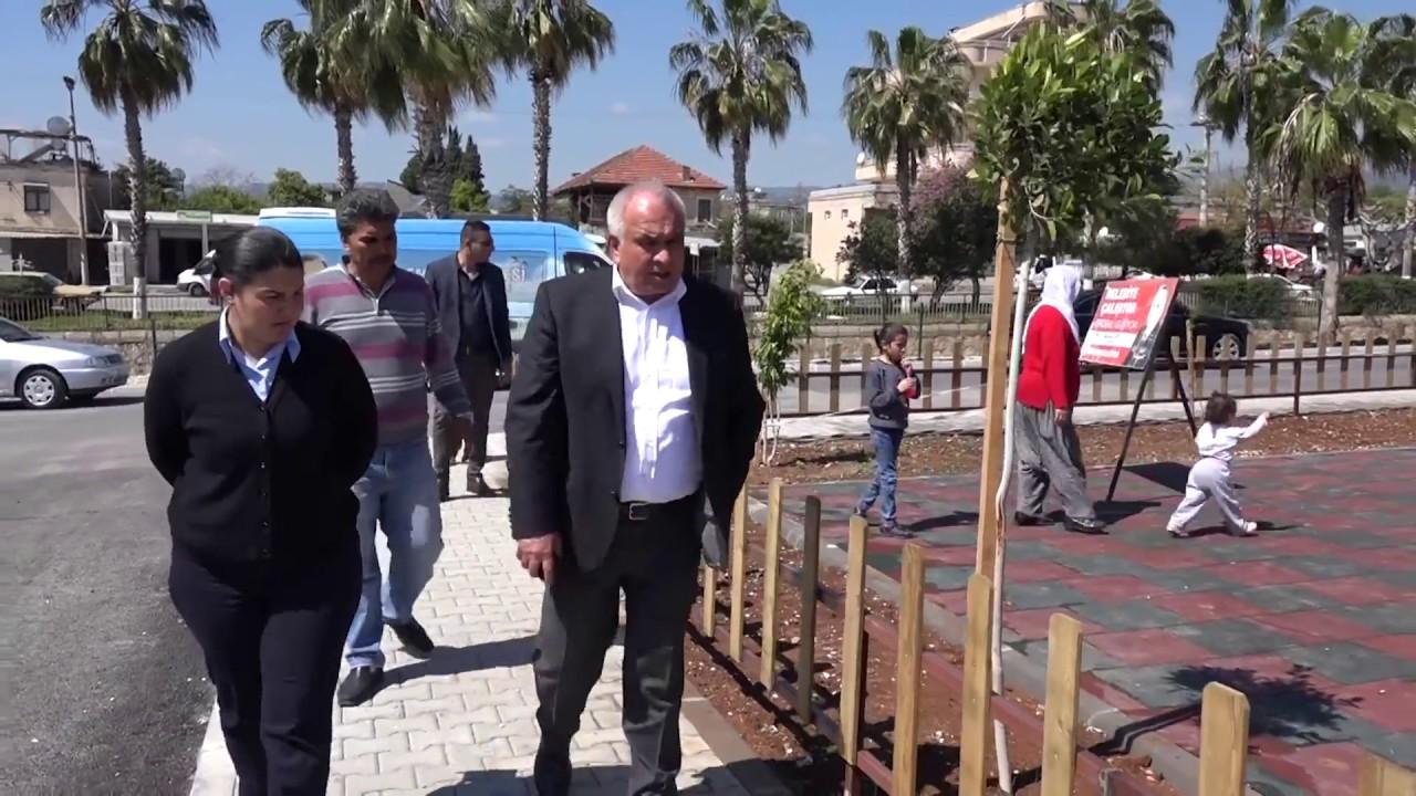 Başkan Tollu Tömük'e Hizmet Yağdırdı