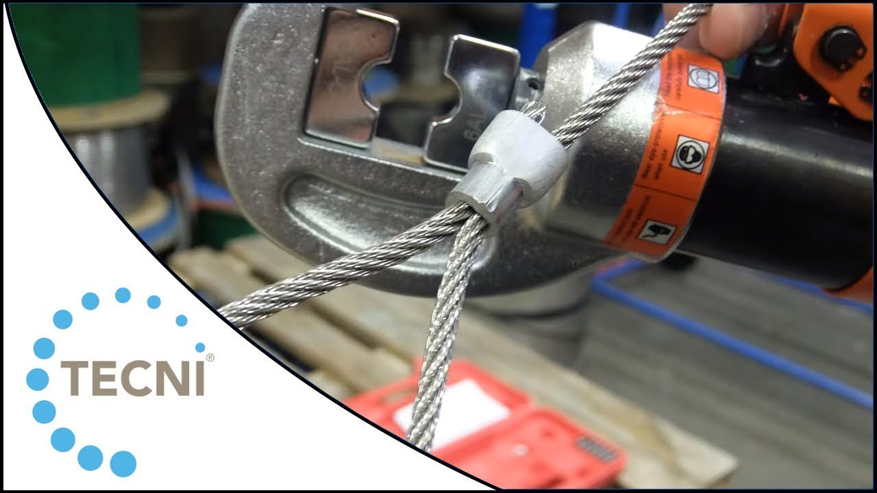 How To Crimp Ferrules Onto Wire Using The Tecni Hydraulic