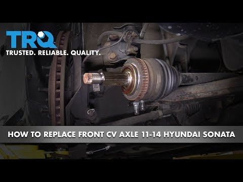 How to Replace Front Passenger CV Axle 11-14 Hyundai Sonata