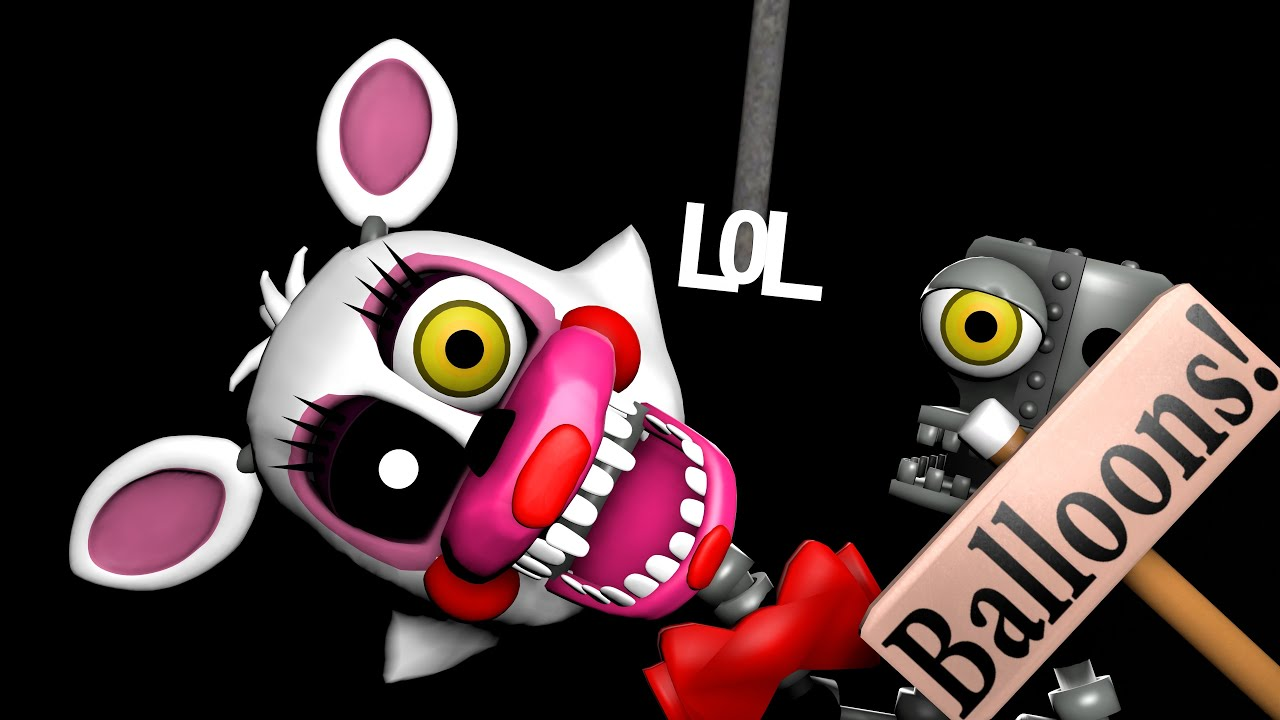 Adventure mangle fnaf world trailer animation fnaf sfm 2016 11 07