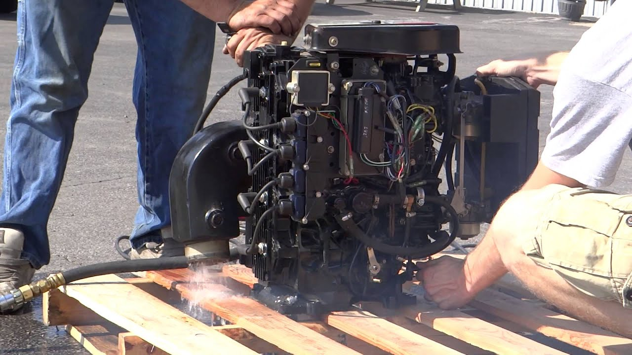 Mercury Sport Jet 120 Complete Engine Test  Runs Great