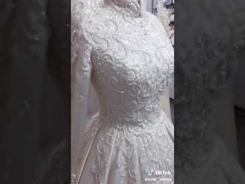 Bridal white frock#WEDDING WHITE DRESS #GOWN#spreadhappinesschannel