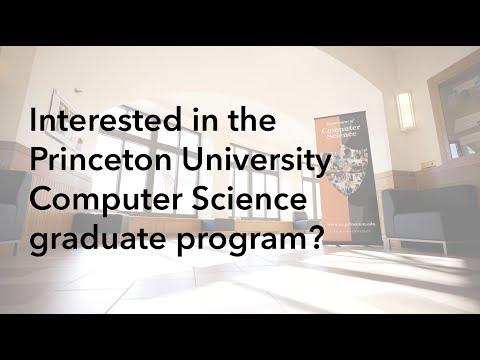 Princeton Computer Science: Meet our Graduate Program